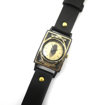 セレンディピティ(黒)/腕時計(専用BOX付き)