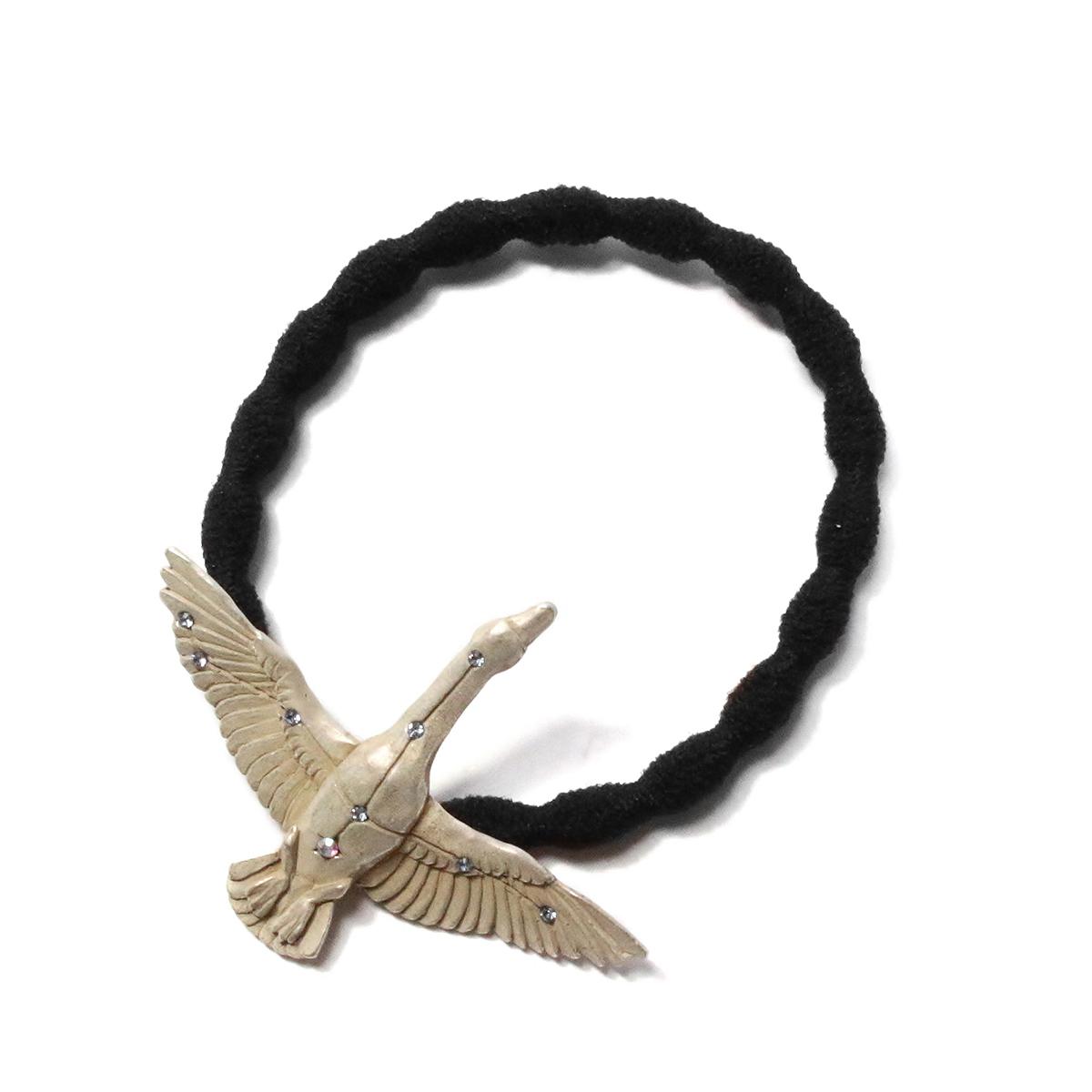 白鳥座ヘアゴムシルバーSV  /  ヘアゴム