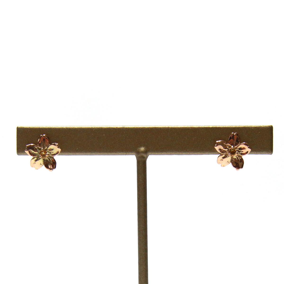 Cherry Blossom Pierced Earrings / Cosmiki Konus ジュエリーピアス