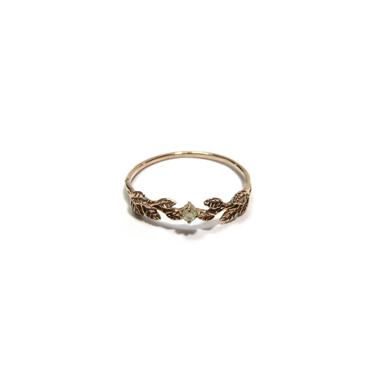 Bay Leaves Ring / 【Cosmiki Konus】ジュエリーリング 専用ボックス付