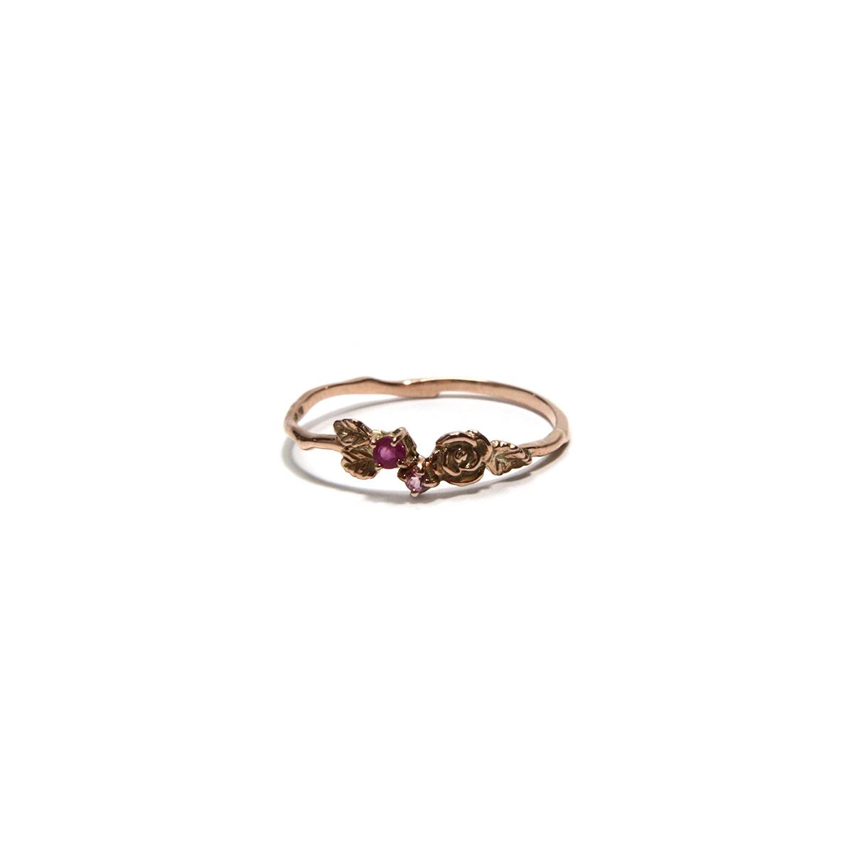 Rose Ring / 【Cosmiki Konus】ジュエリーリング 専用ボックス付