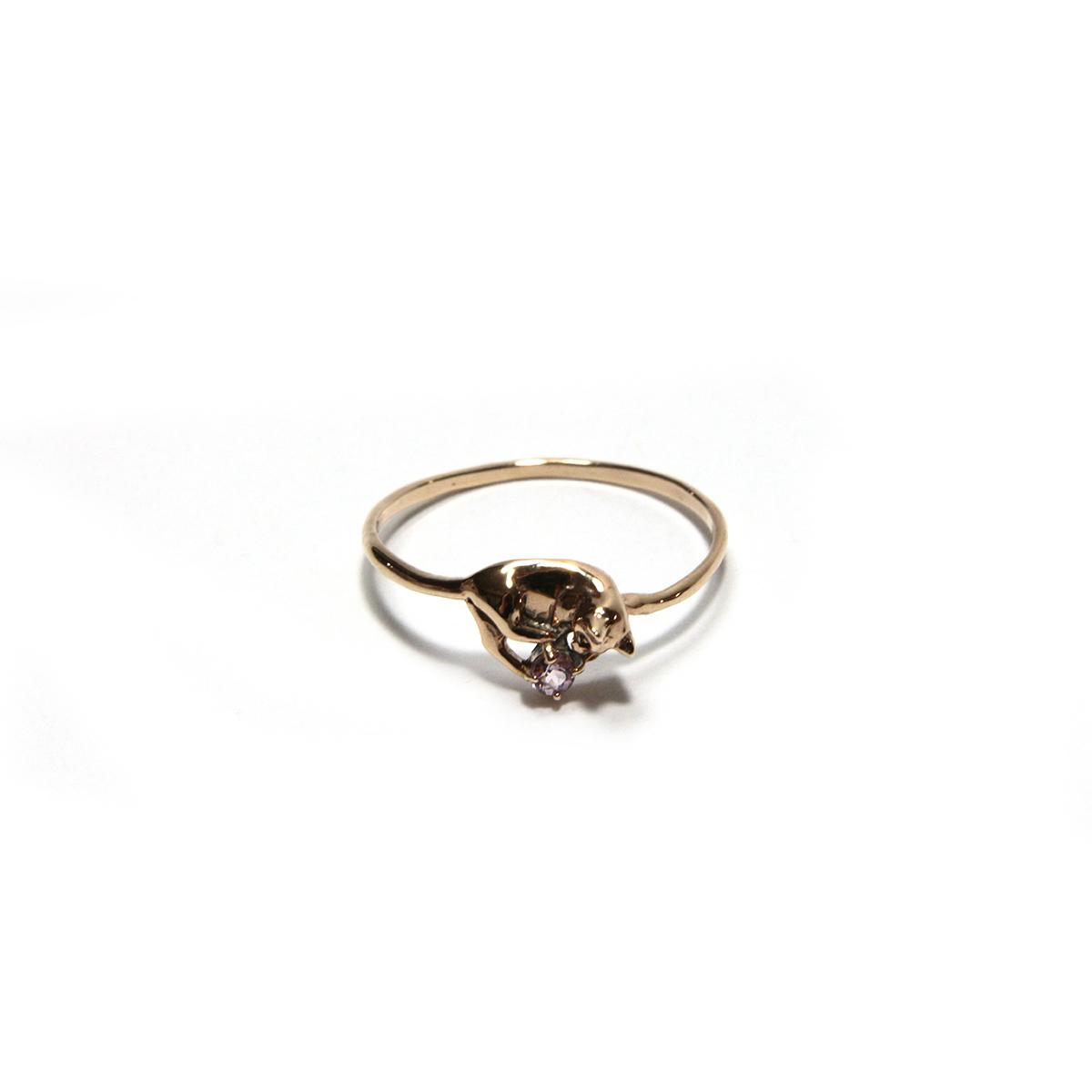 Cat Ring / 【Cosmiki Konus】ジュエリーリング 専用ボックス付