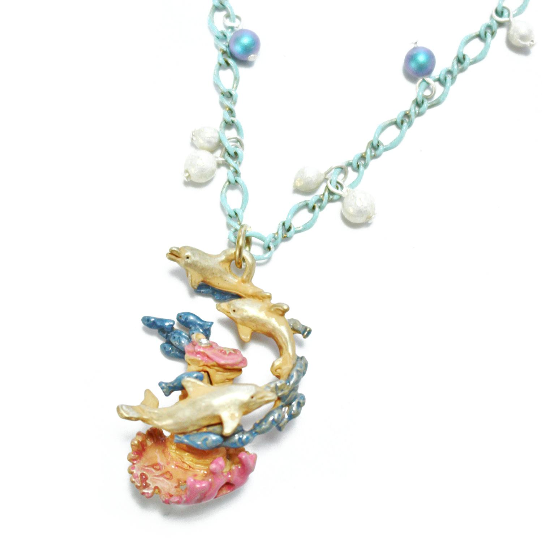 【7月誕生色モチーフ】オーシャンブルー / ネックレス