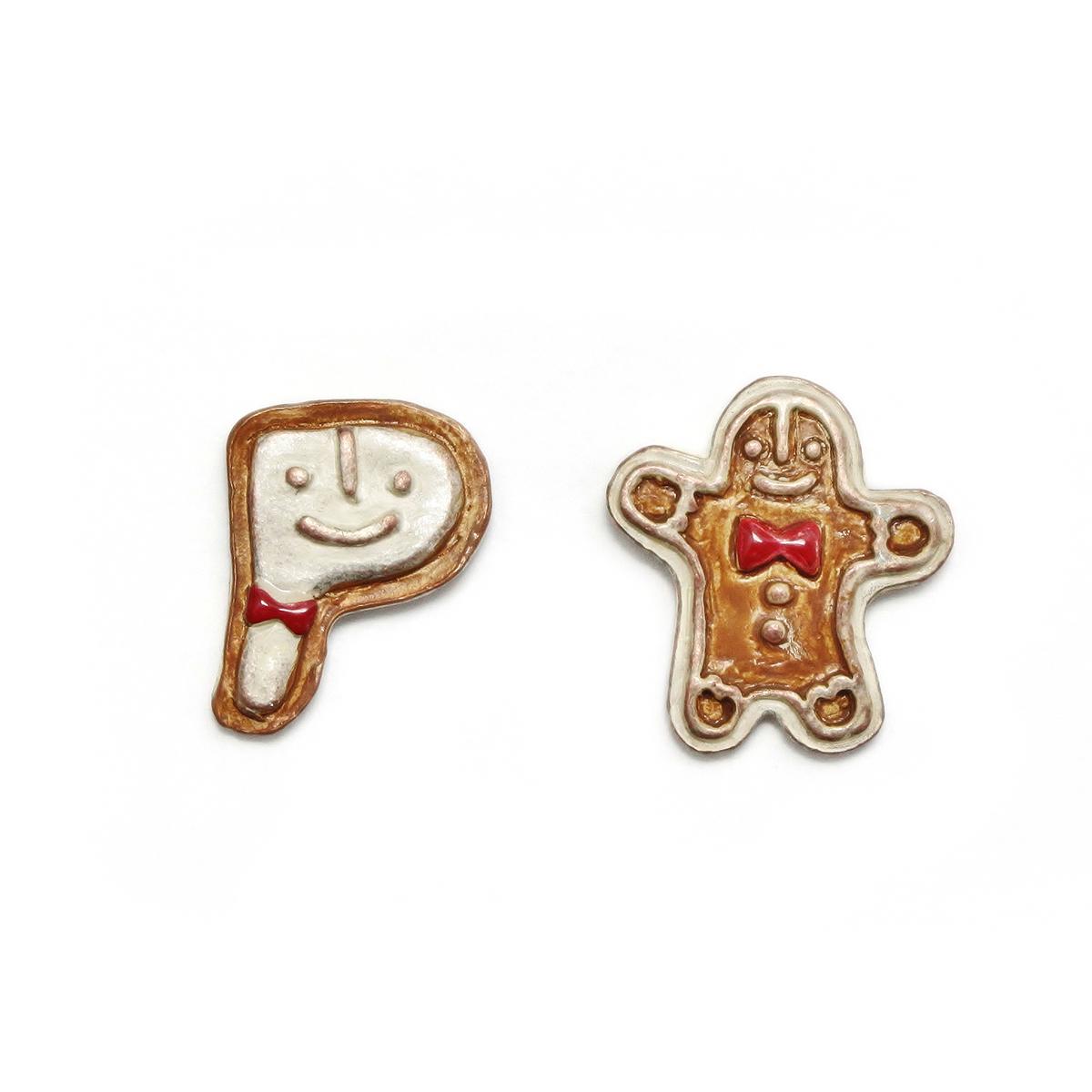 ジンジャークッキー / ピアス