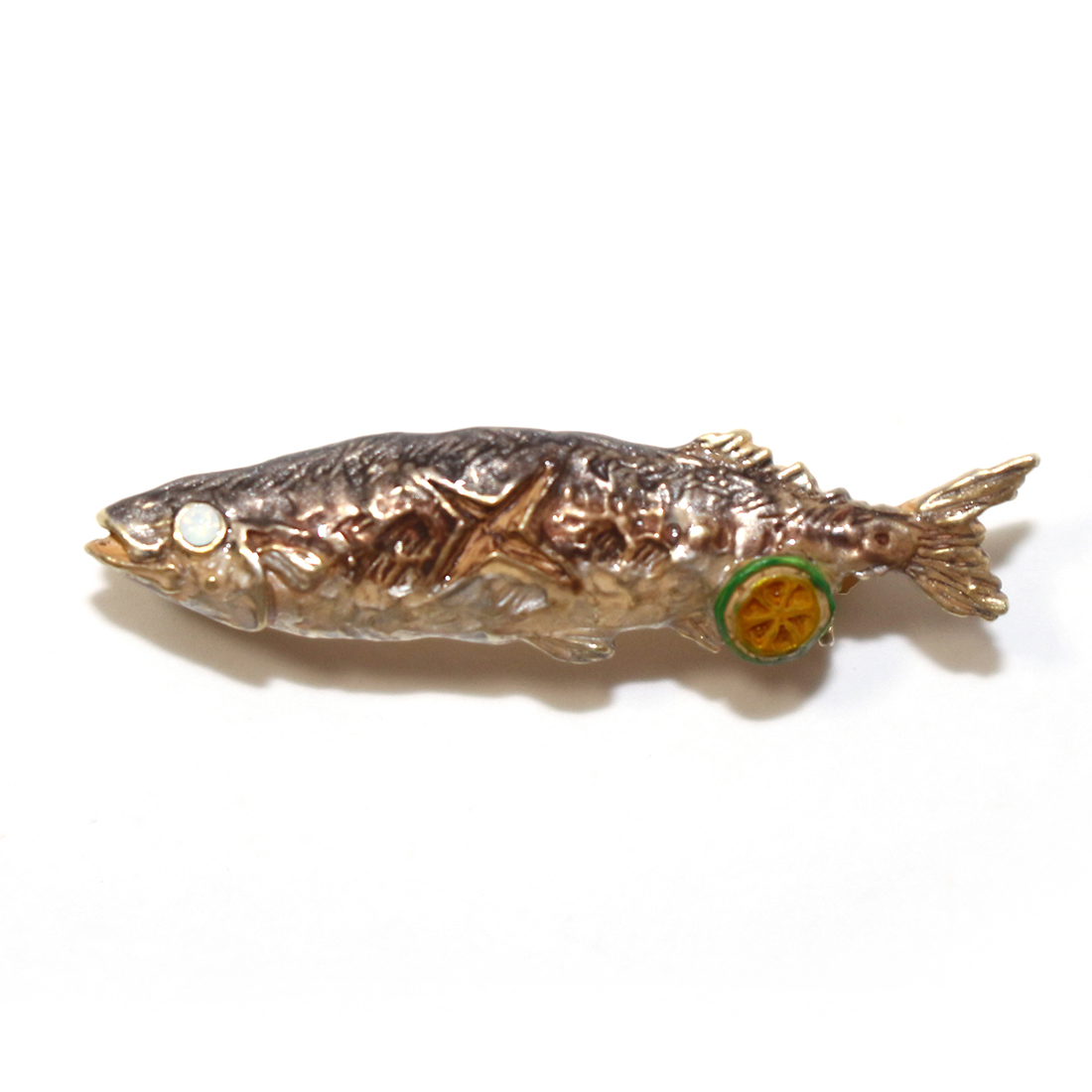 秋刀魚 / ピンブローチ