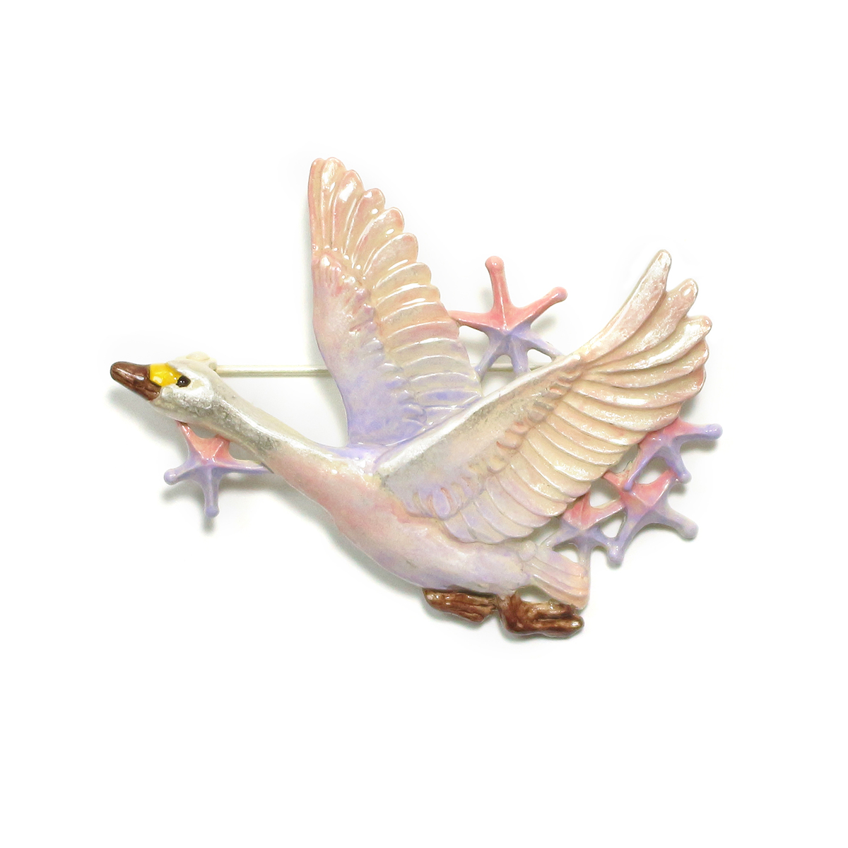 白鳥星雲ブローチ / ブローチ
