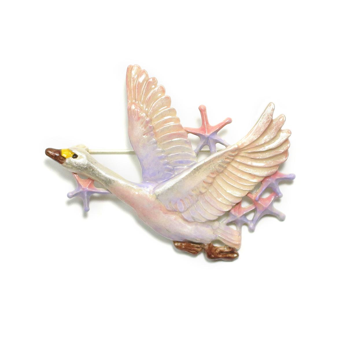 【スプリングセール】白鳥星雲ブローチ / ブローチ