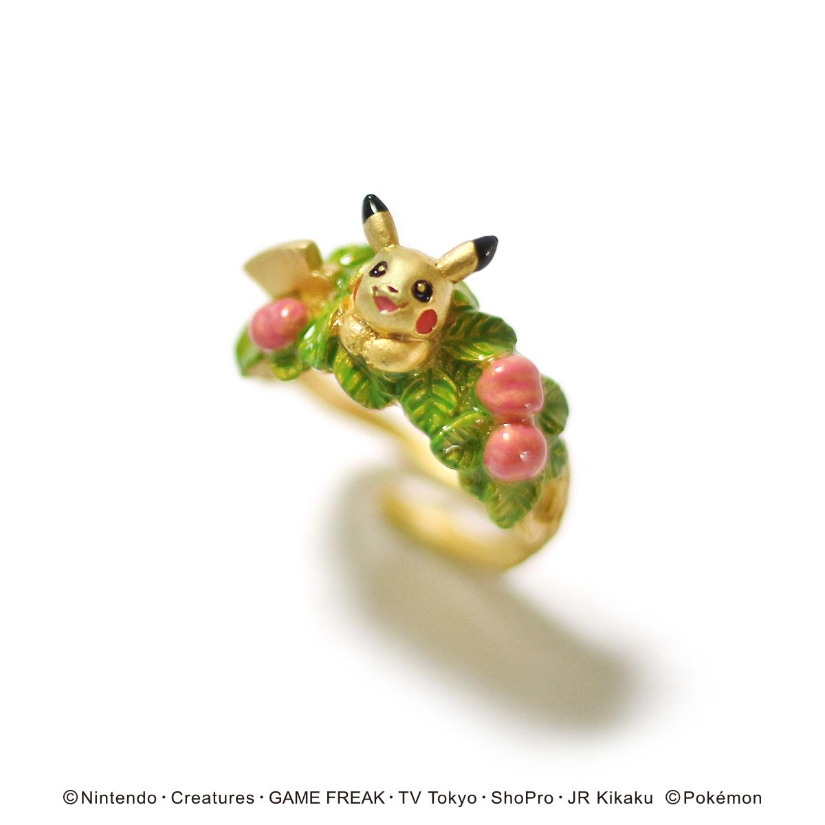 ピカチュウお花畑リング / リング【ポケモン第3弾】(フリーサイズ)