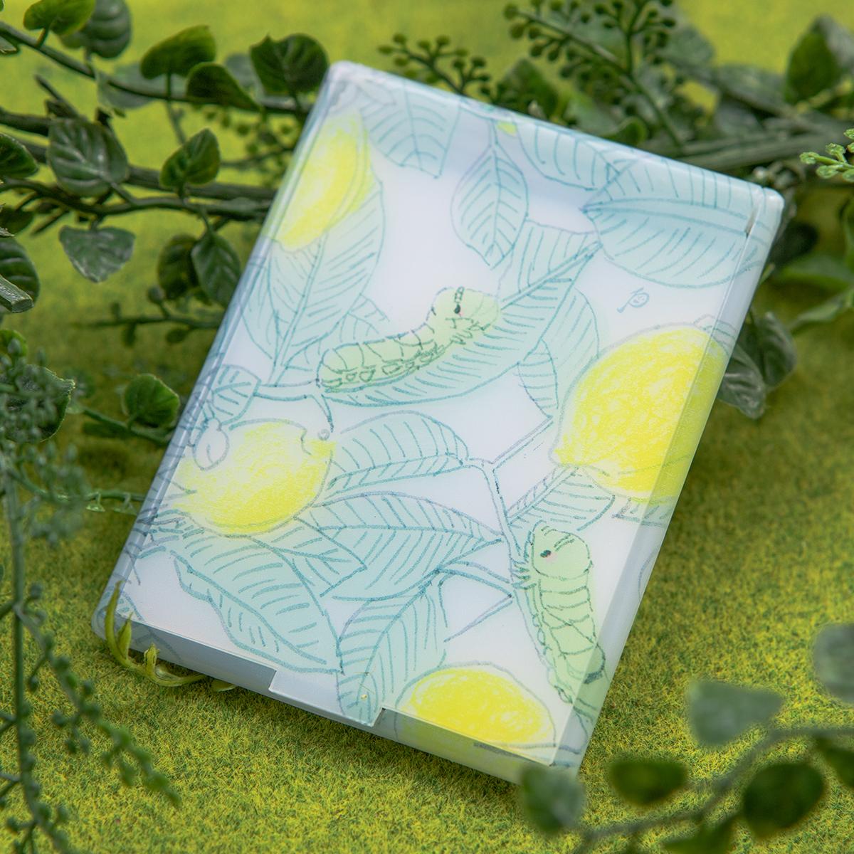 【直営店限定雑貨】レモンの木 ミニミラー