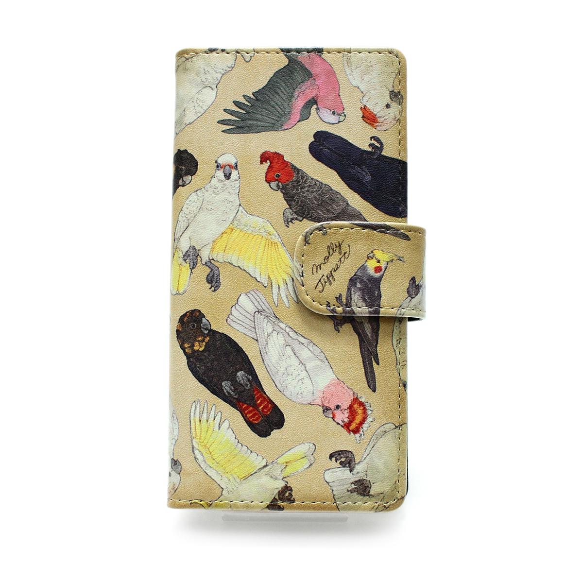 【セール】オウム科の鳥類/ スマートフォンケース (iPhone8/iPhone7/6s/6兼用)