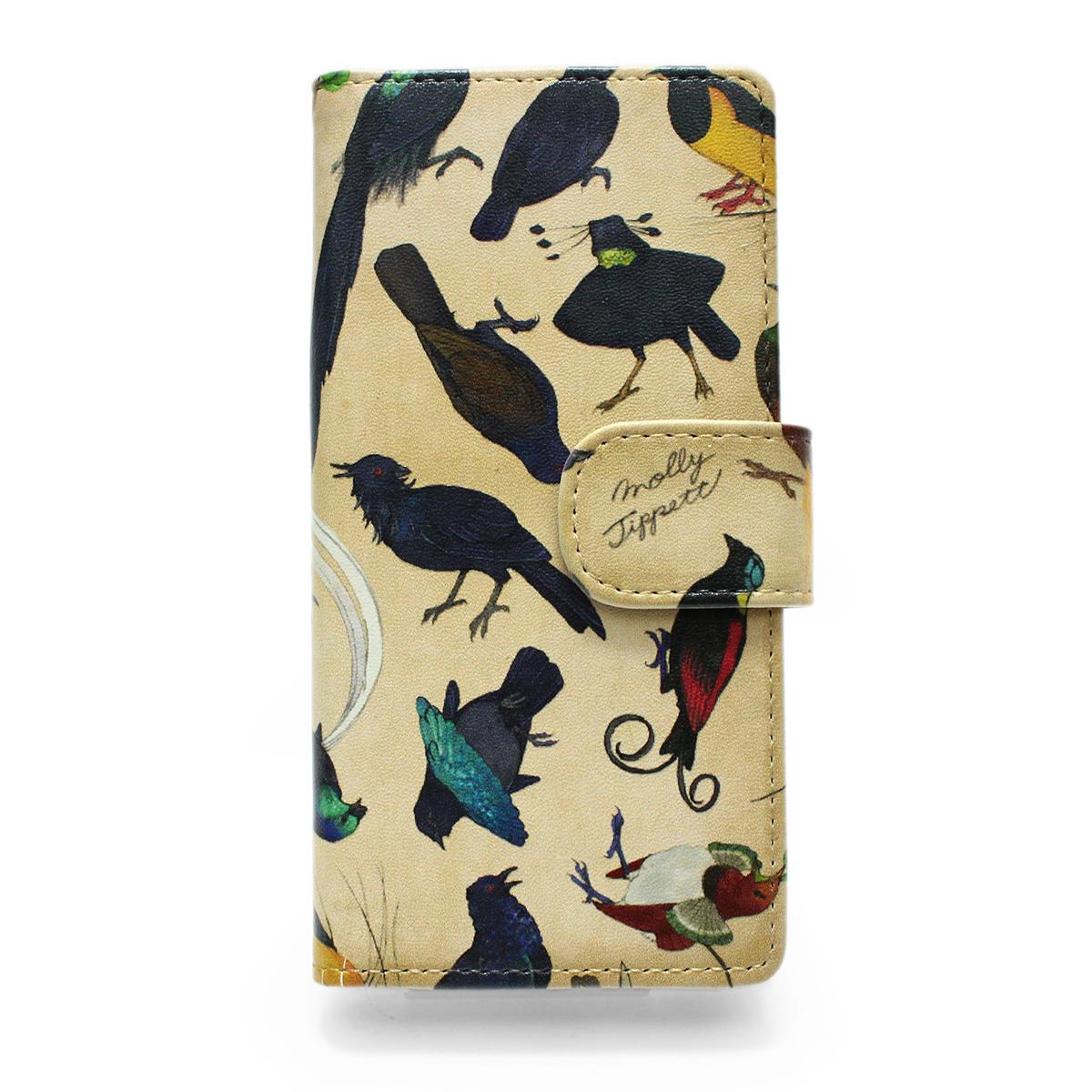 【セール】フウチョウ科の鳥類 /【MollyTippett】 スマートフォンケース(iPhone8/7/6s/6兼用)