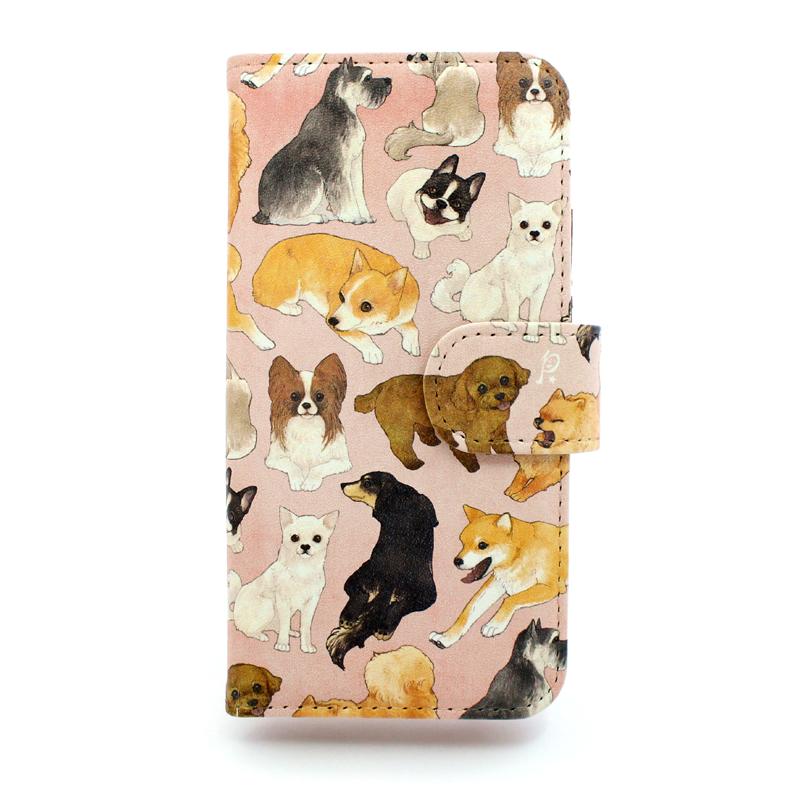 【セール】イヌ図鑑 / スマートフォンケース (iPhone6s専用)