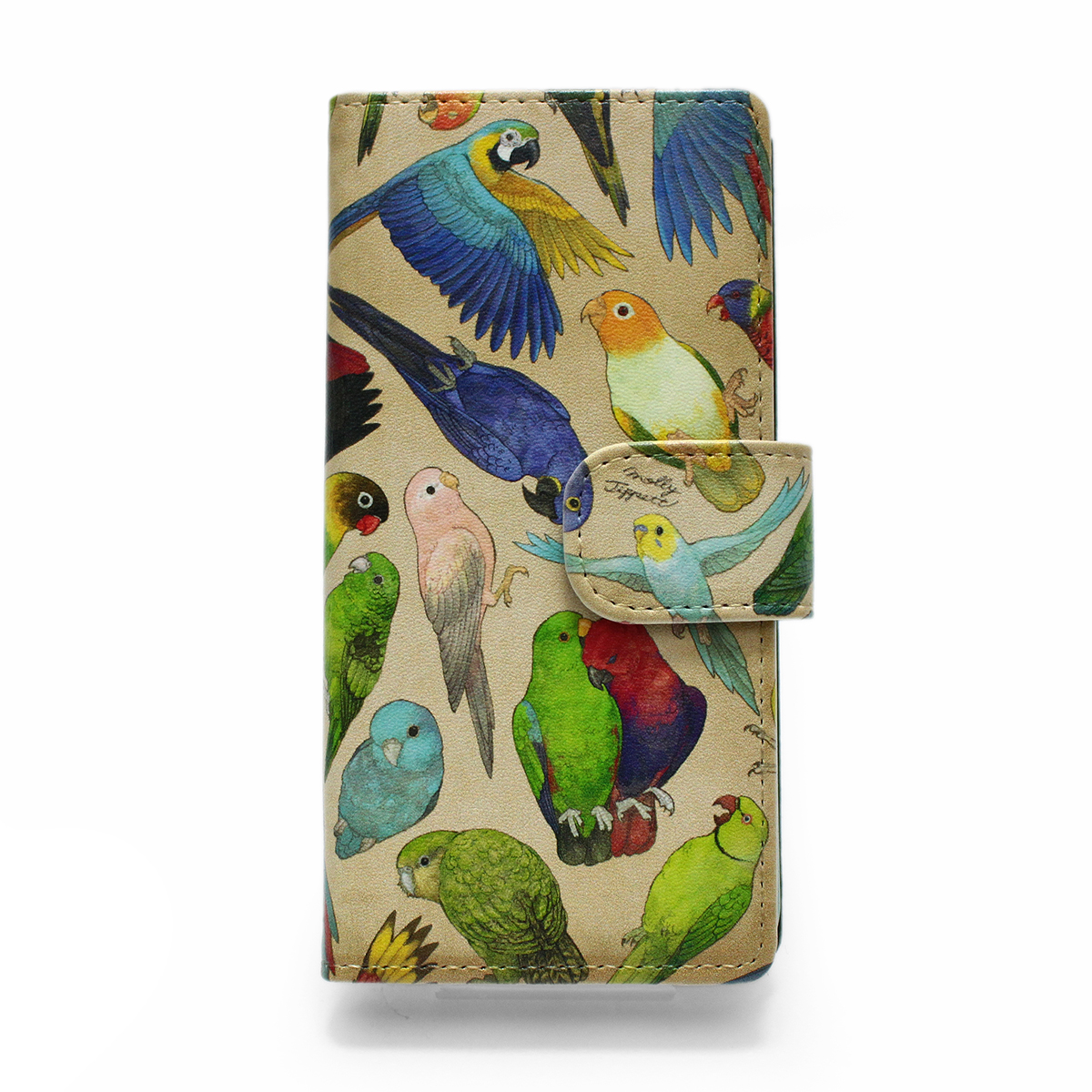 インコ科の鳥類 / スマートフォンケース(iPhone7/6s/6兼用)