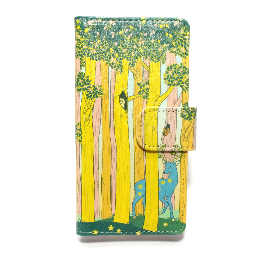 【11月誕生色モチーフ】春の森 / スマートフォンケース(iPhone6,iPhone7,iPhone8兼用)