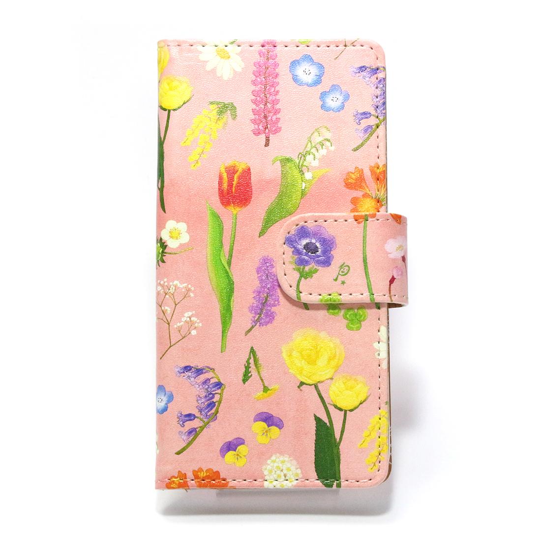 【7月誕生色モチーフ】ボタニカル / スマートフォンケース(iPhone6,iPhone7,iPhone8兼用)