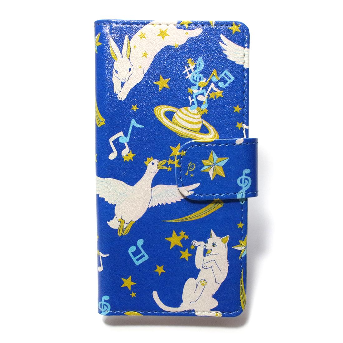 【9月誕生色モチーフ】動物ユニバース / スマートフォンケース(iPhone6,iPhone7,iPhone8兼用)