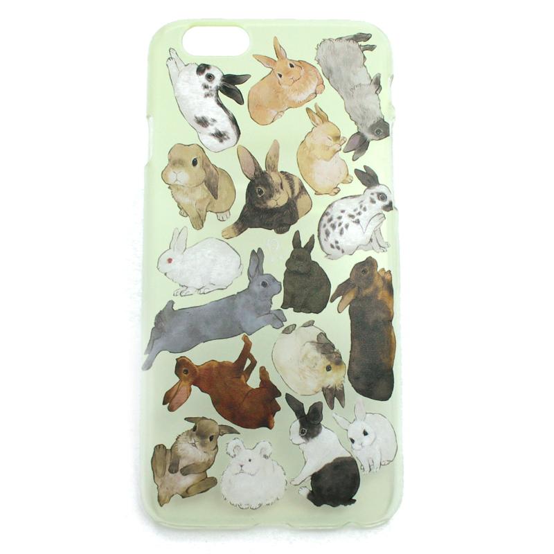 ウサギ図鑑(ハード)/ スマートフォンケース(iPhone6s専用)
