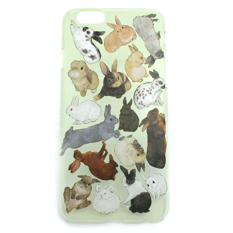 ウサギ図鑑(ハード)/ スマートフォンケース(iPhone7専用)