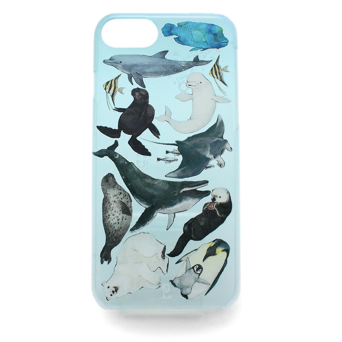 水族館(ハード)/ スマートフォンケース (iPhone8/iPhone7/6s/6兼用)