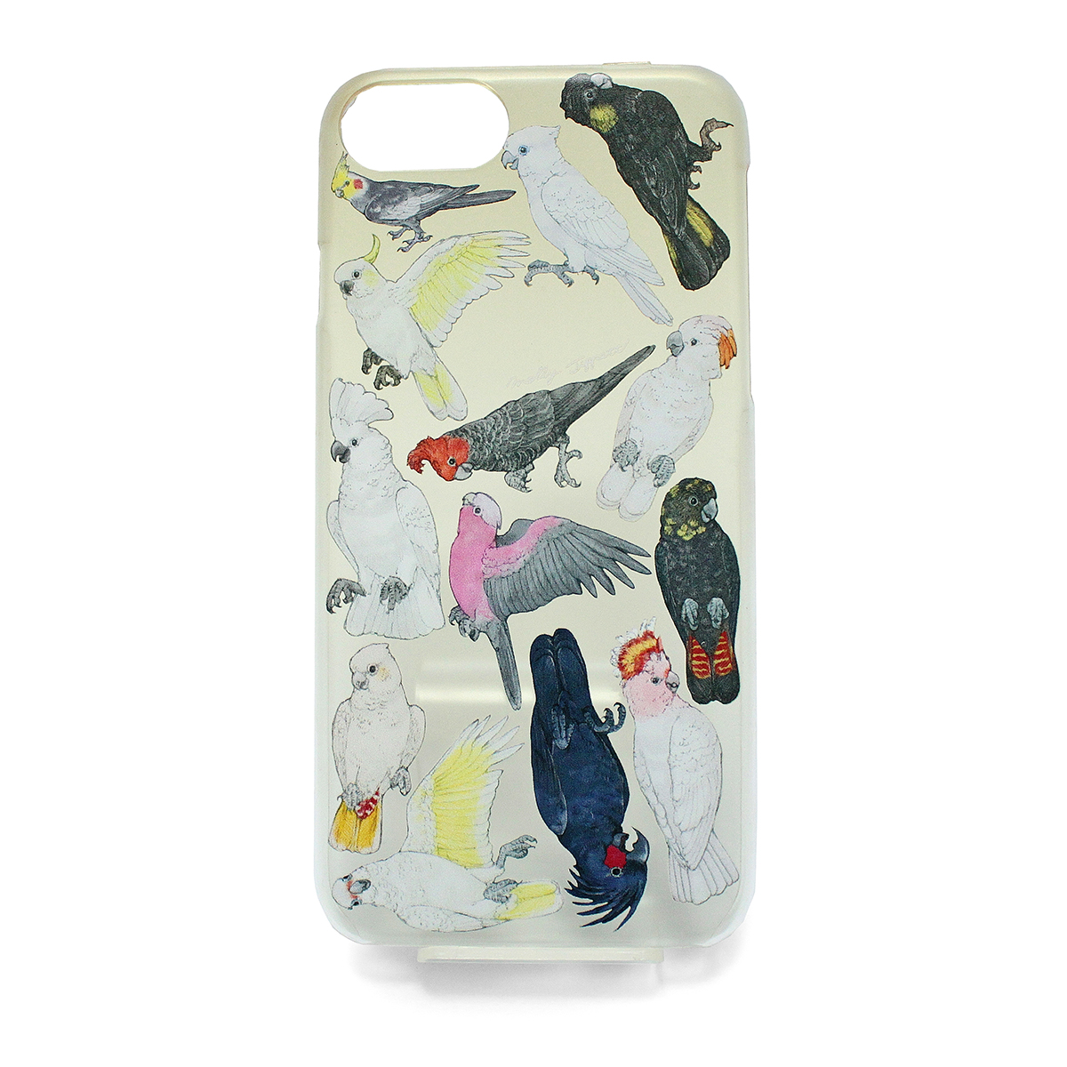 【セール】オウム科の鳥類(ハード)/ スマートフォンケース(iPhone6,iPhone7,iPhone8兼用)