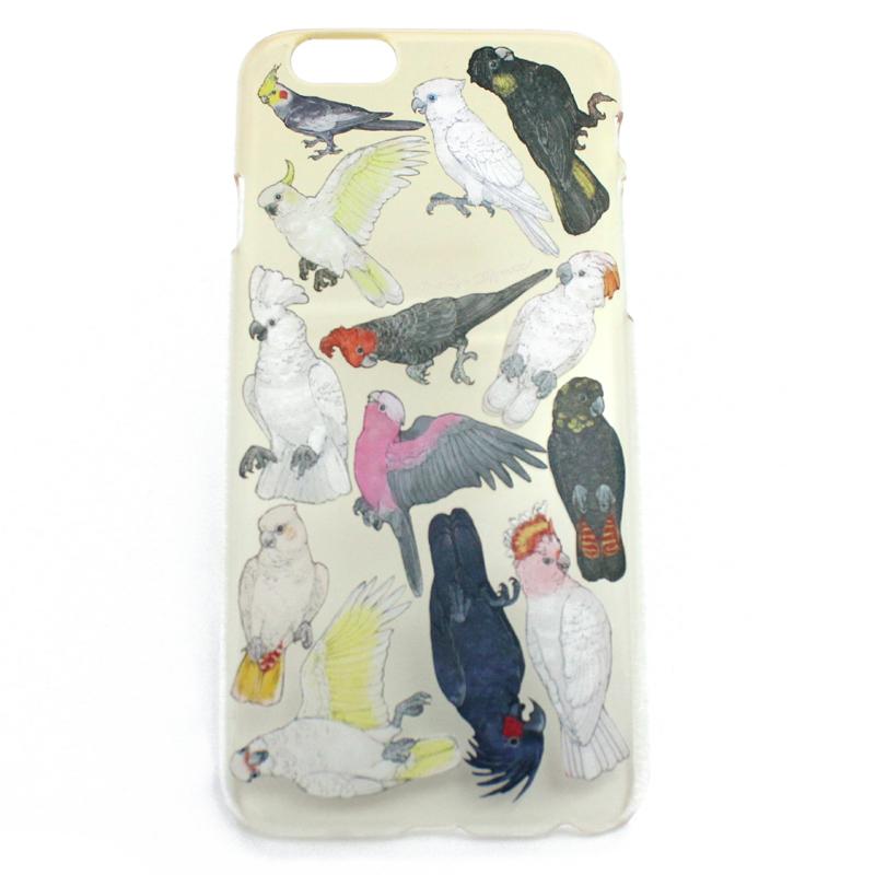 【セール】オウム科の鳥類(ハード)/ スマートフォンケース (iPhone7専用)