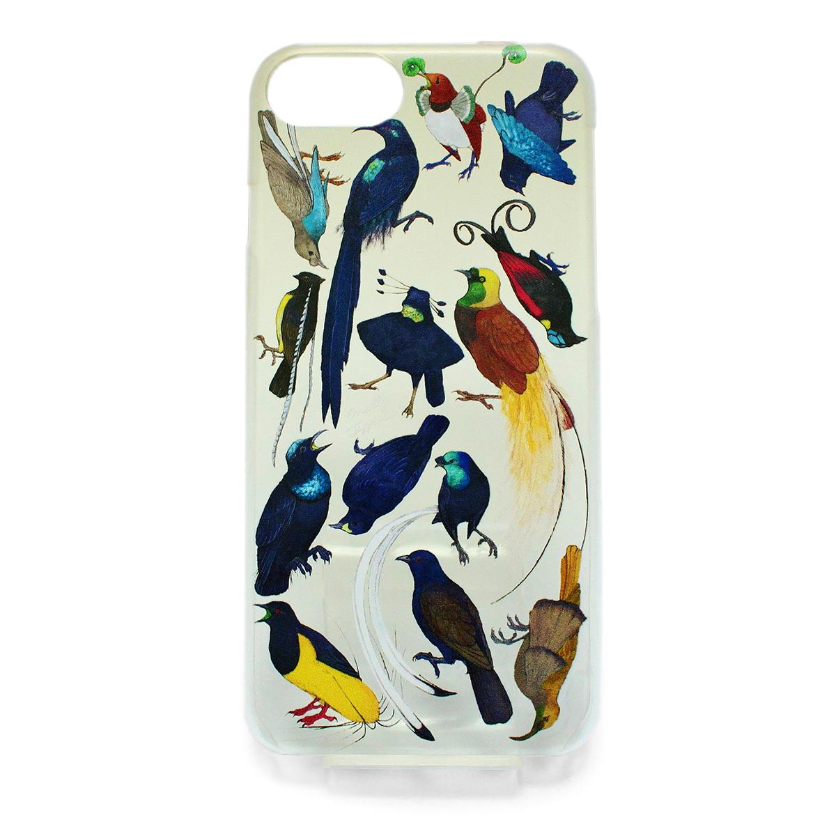 【セール】フウチョウ科の鳥類(ハード)/ スマートフォンケース(iPhone6,iPhone7,iPhone8兼用)