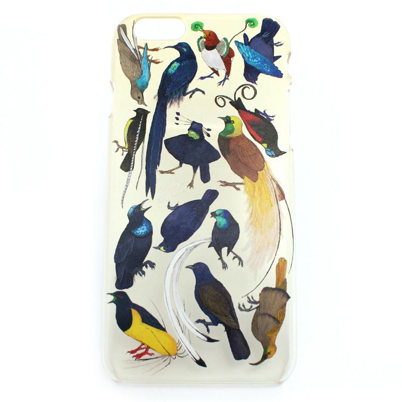 【セール】フウチョウ科の鳥類(ハード)/ スマートフォンケース(iPhone6s専用)