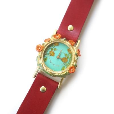 【完売】ポピー/腕時計(専用BOX付き)