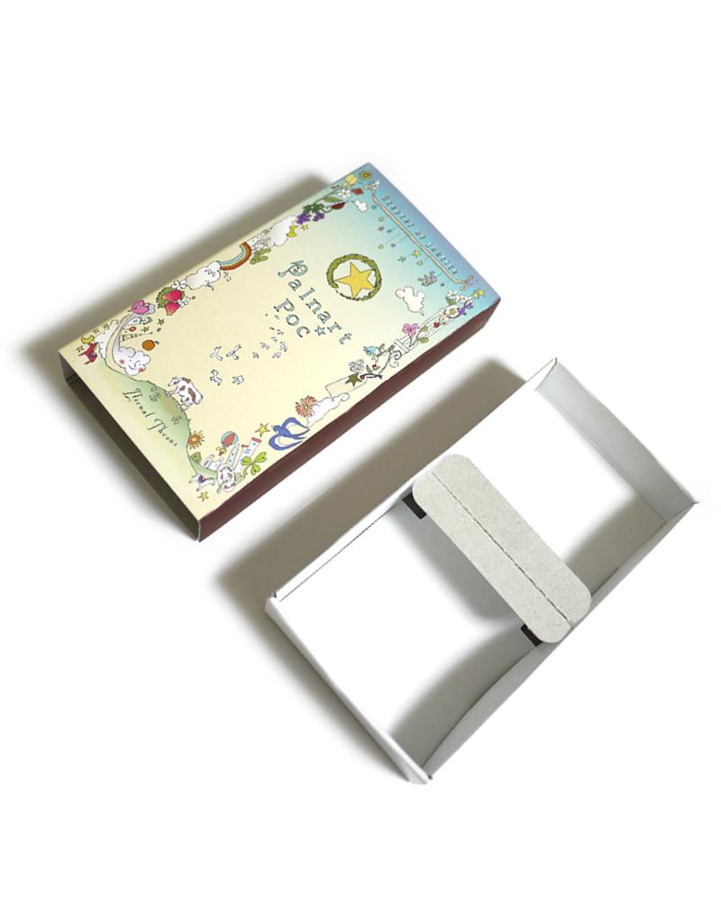 ギフトボックス大マッチ箱5.5cm×11cm / (複数商品・ネックレス・ブレスレット・ブローチ等)帯留め・スマホケース・腕時計・MollyTippetはボックス入りの商品ですので非対応です。
