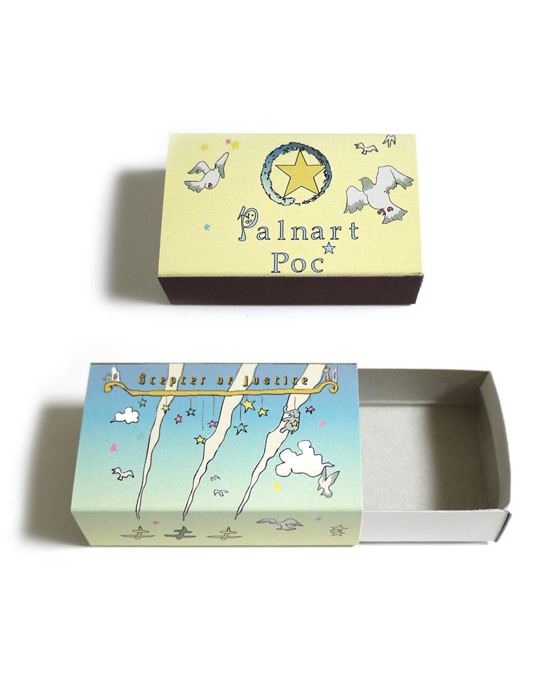 ギフトボックス小マッチ箱3.5cm×5.5cm / (単品商品・ピアス・イヤリング・リングのみ入ります)他は大をお選び下さい。