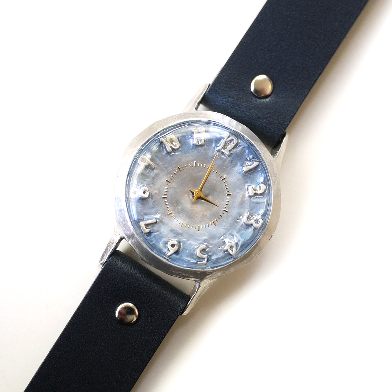 ユリシーズ(シルバー)/腕時計(専用BOX付き)