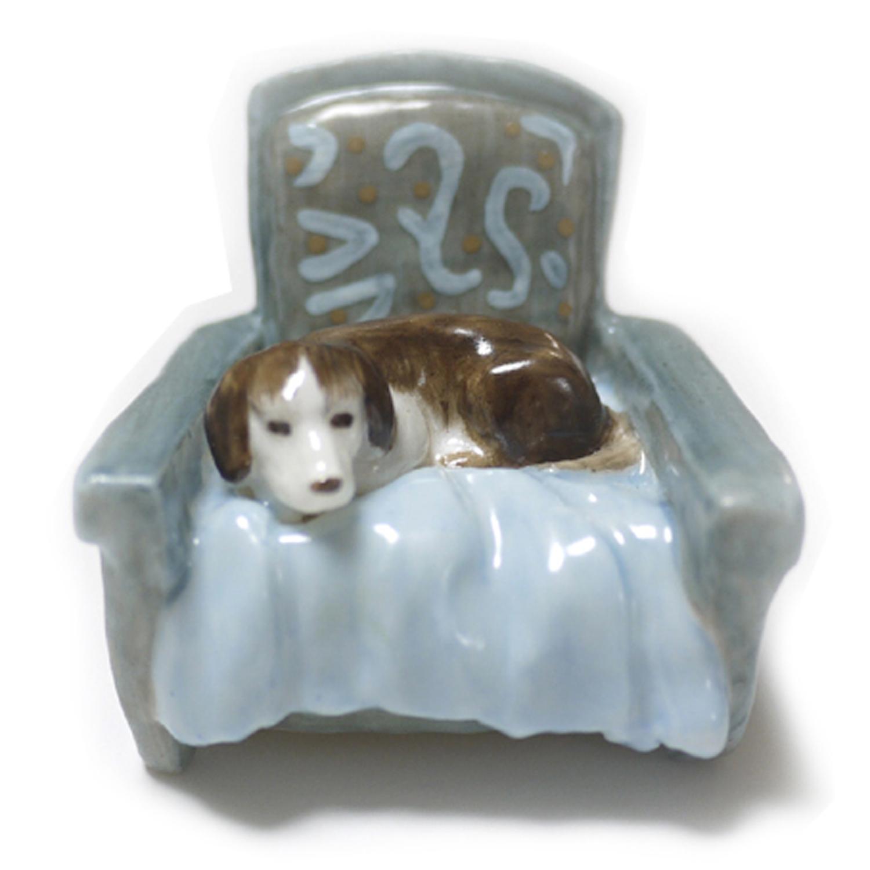 【セール・再値下げ】一人掛けソファ / 陶器