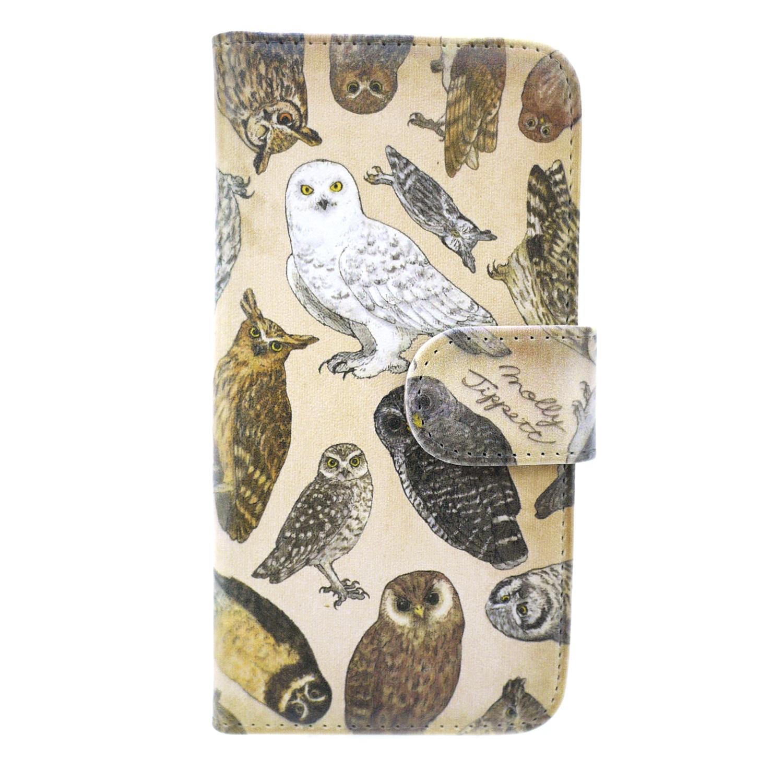 【セール】フクロウ目の鳥類/ スマートフォンケース(iPhone6/6s or 5/5s専用)