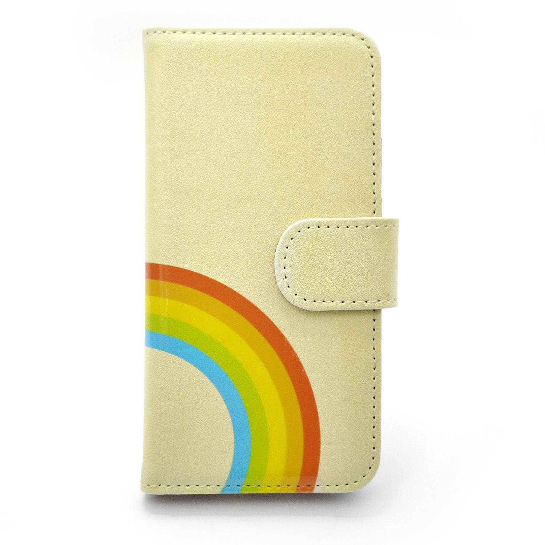 【セール・再値下げ】虹模様 / スマートフォンケース(iPhone6・6sor5・5s専用)