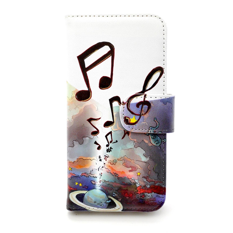 【セール・再値下げ】音楽宇宙  / スマートフォンケース(iPhone6・6sor5・5s専用)