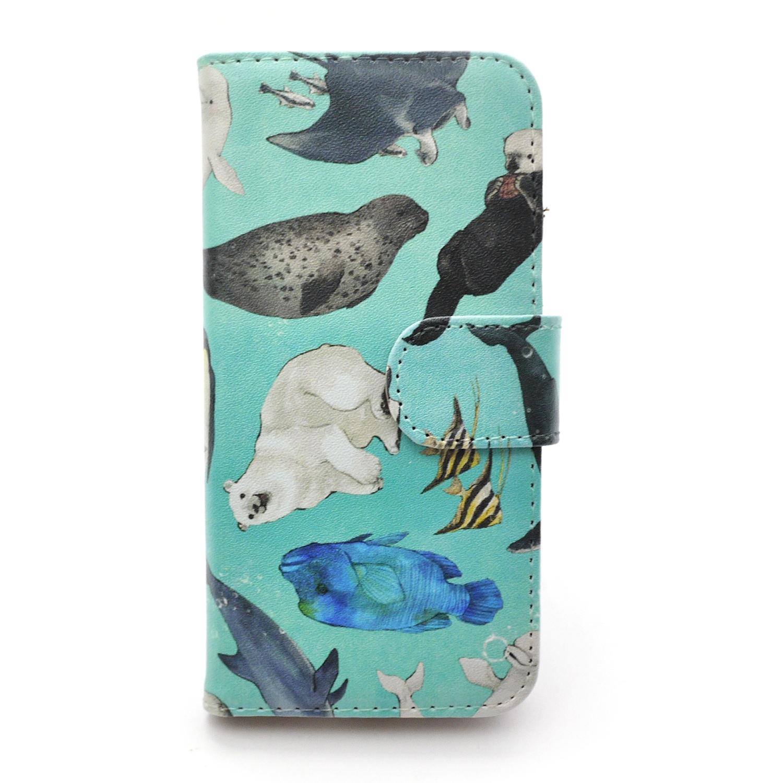 【セール】水族館  / スマートフォンケース (iPhone6/6s or 5/5s専用)