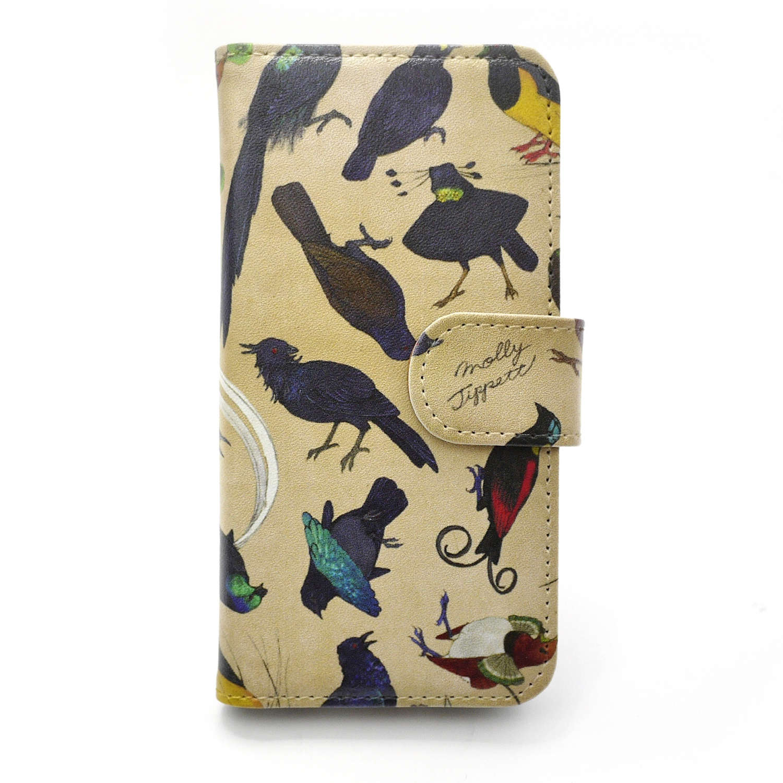 フウチョウ科の鳥類 /【MollyTippett】 スマートフォンケース(iPhone7専用)