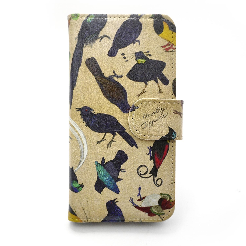 【セール】フウチョウ科の鳥類 /【MollyTippett】 スマートフォンケース(iPhone6・6sor5・5s専用)
