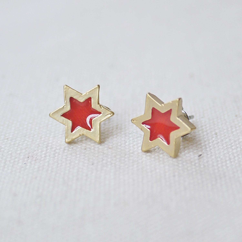 【セール】ダビデの星/ピアス